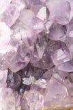 Fine Amethyst della roccia Fotografia Stock