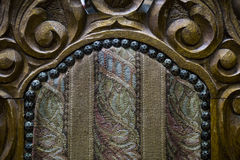 Fine antica della sedia su Immagine Stock Libera da Diritti