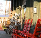 Fine Antiques Store Royalty Free Stock Photography