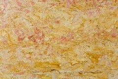Fine arancio di struttura della superficie del marmo su sottragga la priorità bassa Immagine Stock Libera da Diritti
