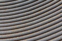 Fine arrugginita di struttura del metallo su, fondo fotografia stock libera da diritti