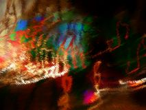 Fine Art Abstract. Color Splash Royalty Free Stock Photo