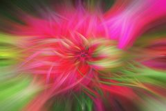 Fine art abstract background. Green, red and pink. Pattern Royalty Free Stock Images
