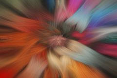 Fine art abstract background. Multi colored. Swirl fantasy pattern Stock Photography