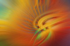 Fine art abstract background. Red and orange. Bright fantasy light pattern Stock Photo