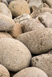 Fine art image of large rounded rocks on beach Royalty Free Stock Images