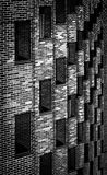 Fine art modern building. Windows in a modern building Royalty Free Stock Images