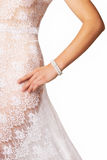 Fine art nude bride Royalty Free Stock Photo
