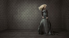 Fine art photo of a beautiful lady Royalty Free Stock Image