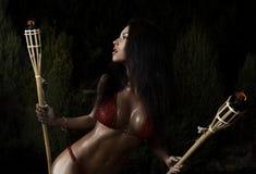 Fine art photo of a beautiful woman. Stock Photography