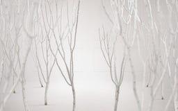 Fine art photo of a dreamy white background Stock Photo