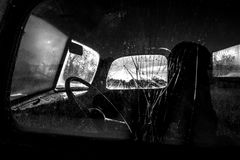 Fine Art Photography Old Truck Cab Stock Images
