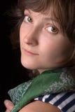 Fine-art woman portrait Stock Images