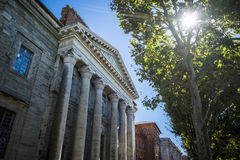 Fine Arts Academy of Toulouse in France Stock Images