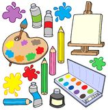 Fine arts collection 1. Vector illustration Stock Photo