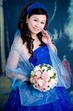 Fine asiatica di signora su Fotografie Stock Libere da Diritti