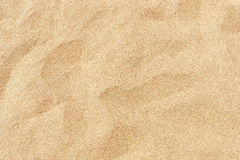 Fine beach sand in the summer sun Royalty Free Stock Photo