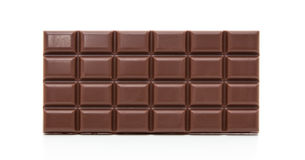 Fine block of chocolate Royalty Free Stock Photography