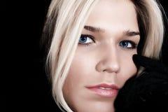 Fine blonde Stock Photography