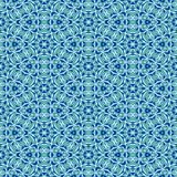 Fine blue texture with geometric patterns Stock Photography