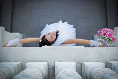 Fine bride Royalty Free Stock Photos