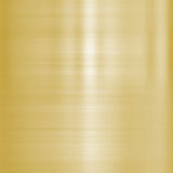 Fine brushed gold metal. Very finely brushed gold metal background texture Royalty Free Stock Photos
