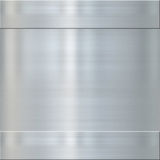 Fine brushed steel metal Royalty Free Stock Images