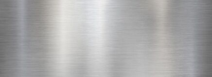 Free Fine Brushed Wide Metal Steel Or Aluminum Plate Royalty Free Stock Photo - 170799925