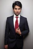 Fine businessman Stock Images
