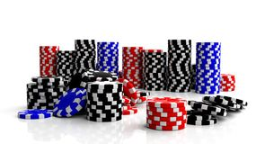 Fine casino gaming Royalty Free Stock Images