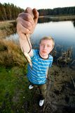 Fine catch of fish Stock Images