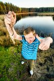 Fine catch of fish Stock Photos