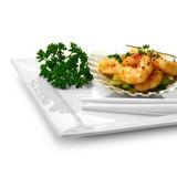 Fine Chilli Prawns 2 Royalty Free Stock Photo