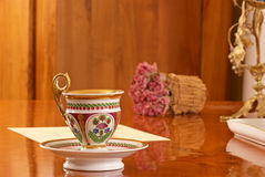 Fine china still life Royalty Free Stock Photo