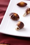 Fine Chocolates Stock Photography
