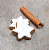 Fine cinnamon cookies Royalty Free Stock Images
