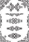 Fine classic design elements Stock Image