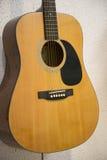 Fine classica della chitarra su Fotografia Stock