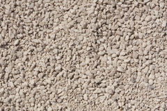 Fine and coarse gravel as background or texture Stock Image