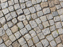 Fine cobblestone Stock Photo