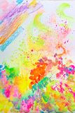 Fine colorful creative abstract art royalty free stock images