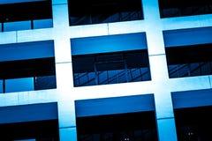 Fine commerciale moderna della costruzione sulla vista Fotografia Stock Libera da Diritti