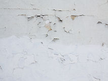 Fine cracks in the plaster Stock Photos
