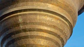 Fine d'ottone della campana su Immagine Stock