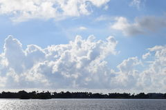 Fine day on the intracoastal Royalty Free Stock Images