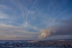 Fine day in Magnitogorsk Stock Photo