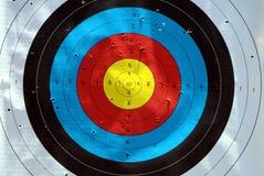 Fine del bordo di pratica di obiettivo su Fotografie Stock