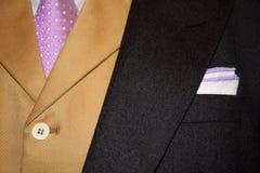 Fine del cappotto di mattina in su Fotografia Stock