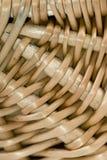 Fine del cestino di vimini su 2 immagini stock