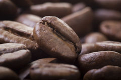 Fine del chicco di caffè Immagini Stock Libere da Diritti